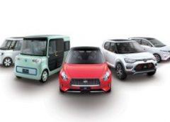 Ще три прем'єри Daihatsu для Токіо: седан для літніх і два компактвена