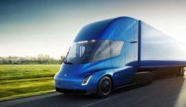 Розгін футуристичного вантажівки Tesla показали на відео