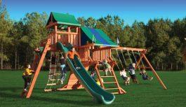 Игровая площадка — лучшее, что можно подарить ребенку
