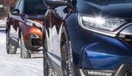 Чужі зірки. —Peugeot 3008 проти Honda CR-V