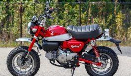 Японці відродили микромотоцикл Honda Monkey