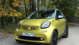 Smart Fortwo Cabrio: городской микрокар-кабриолет