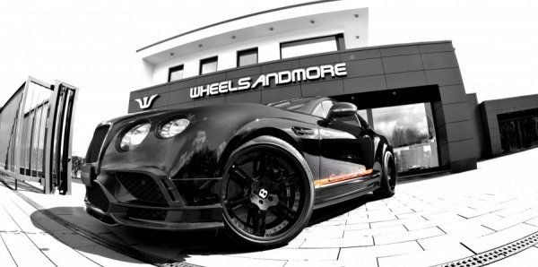 Тюнер Wheelsandmore доработал Bentley Continental 24