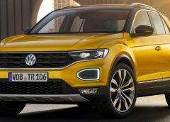 Volkswagen тестирует кроссовер с открытым верхом