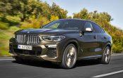 2020 BMW X6 третього покоління помічена на петлях Нюрбургринга