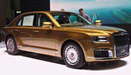 Aurus Senat S600: представницький седан за ₽10 млн.