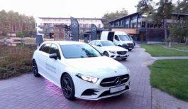 В Україні презентовано чотири нові моделі Mercedes-Benz